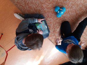 Programowanie dla dzieci zrobotami Dash iDot wJęzykowej Szkole Podstawowej Młody Kopernik iPrzedszkolu Michałek wWałbrzychu