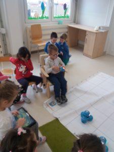 Dash i Dot z wizytą w Przedszkolu Frajda w Świdnicy