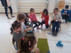 Zajęcia edukacyjne Centrum Edu Park w przedszkolu Frajda w Świdnicy