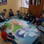 Mata Wyspa iroboty Dash iDot wSpołecznej Szkole Podstawowej wŚwidnicy
