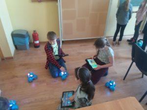 Zajecia z programowania w Szkole Podstawowej nr 3 w Świebodzicach
