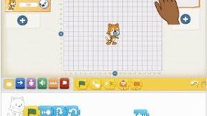 Nauka programowania zaplikacją Scratch junior