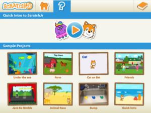 Zajęcia zprogramowania zaplikacją Scratch Junior wCentrum Edu Park wŚwidnicy