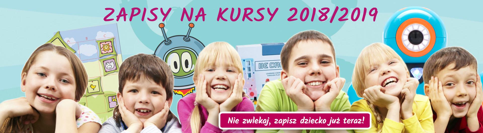 Zapisy na kursy programowania dla dzieci w roku szkolnym 2018/2019 - Świdncia