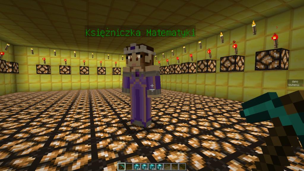 Księżniczka matematyki wMatcraft
